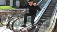 Bursa'da yürüyen merdiven ters yönde hareket etti: Yaralılar var