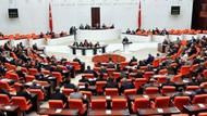 CHP'li ve MHP'li vekiller birbirine girdi, seçim ittifakı Meclis'ten geçti