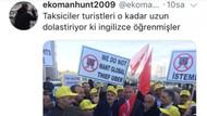 Sosyal medyada taksicilere öfke, Uber'e destek: #uberimedokunma