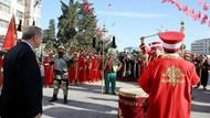 Erdoğan Afrin marşı istedi: Torunum bile Mehter Marşı'yla yürüyor