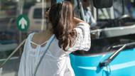 Otobüste genç kızların saçlarına dokunup mastürbasyon yaptı