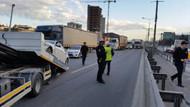 Polisten kaçan şüpheliler Basın Ekspres yolunu birbirine kattı