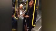 Sosyal medya bunu konuşuyor! Metrobüste şeytan kılıklı kadın