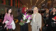 Tesettürlü manken Halima Aden Türkiye'de