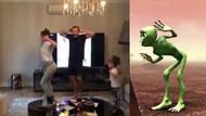 Demet Akalın yeşil uzaylı dansı akımına kapıldı