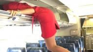 Uçak yolcuları indikten sonra hostesler nasıl çılgınlıklar yapıyor?
