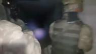 8 askerin şehit olduğu Keltepe'deki tünele böyle girildi