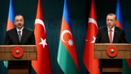 Cumhurbaşkanı Erdoğan ile Aliyev'den flaş görüşme