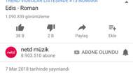 Edis'in AN klibi 12 saatte 1 milyon izlendi