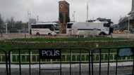 Taksim Cumhuriyet Anıtı'nın çevresi polis tarafından kapatıldı