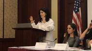 ABD Kongresindeki kadın hakları toplantısına Rabia Kazan damga vurdu