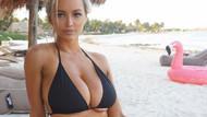 Lindsey Pelas dolgun göğüsleriyle hayalleri süslüyor