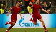 Cengiz Ünder'li Roma Barcelona'yı 3-0 yendi