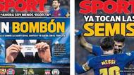 İtalyan basını, İspanyol basınından öç aldı: Al sana bonibon!
