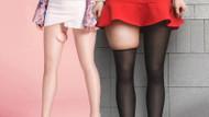 Bacakları ince gösteren çılgın moda akımı: Flaseek