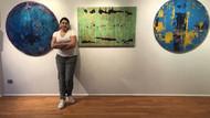 Yasemen Lafife Ayvaz'ın Rengin Gör Dediği sergisi sanatseverlerle buluşuyor