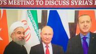 Erdoğan, Putin ve Ruhani'nin fotoğrafı Pompeo'ya soruldu