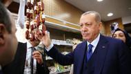 Erdoğan Beykoz'da şarküteri alışverişinde böyle görüntülendi