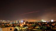 İşte Amerika'nın Suriye'ye saldırı görüntüleri