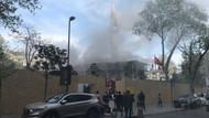 Şişli'deki Teşvikiye Camii'nde yangın
