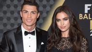 Ronaldo'dan Irina Shayk için olay itiraf!