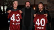 Al Pacino ve Robert De Niro Trabzonspor formasıyla poz verdi