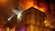 İstanbul İkitelli'de yangın