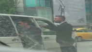 Atatürk Havalimanı'nda UBER sürücüsüne saldırı kamerada
