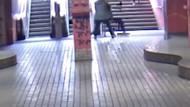 Genç kıza metro istasyonunda dehşete düşüren saldırı