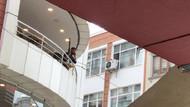 Silahla kafeteryayı bastı, Bakan aradı ikna etti