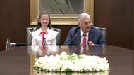 Yıldırım'ın koltuğuna oturan öğrenci: Atatürk bu milleti bize emanet etti