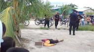 Peru'da korkunç görüntüler! Boynuna ip bağlayıp linç ettiler