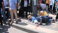 Sokak ortasında tartıştığı eşini bıçakladı
