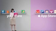 App Store reklamında bomba gönderme