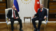 Erdoğan ile Putin'in baş başa görüşmesi 1,5 saat sürdü