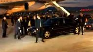 İran Cumhurbaşkanı Ruhani'nin uçağı Ankara'ya iniş yaptı