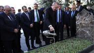 Cumhurbaşkanı Erdoğan, Türkeş'in mezarını ziyaret etti