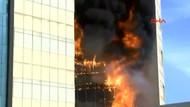 Gaziosmanpaşa Taksim İlkyardım Hastanesi'nde yangın