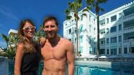 Lionel Messi'nin otelinde 4 günlük olay parti