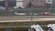 Kerimcan Durmaz'ın bulunduğu uçakta yangın çıktı