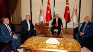 İnce ile görüşen Erdoğan'ın oturduğu koltuk gündem oldu; İnce'den açıklama geldi