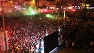 Türkiye'nin en mutlu ilçesi: Akhisar'da kupa coşkusu