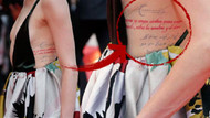 Amber Heard'ın dövmesi olay oldu