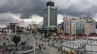 Bu fotoğraflar az önce Taksim'de çekildi