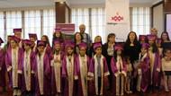 Maltepe Çocuk Üniversitesinde mezuniyet töreni
