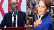 İyi Parti'ye giden oylar CHP'ye dönüyor, sebebi Muharrem İnce