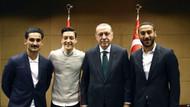 Erdoğan ile fotoğraf çektiren İlkay Gündoğan ve Mesut Özil'e Almanya'dan tepki!