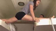 Jimnastik şovu yapmaya çalışan kızın hazin sonu