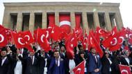 Anıtkabir'de 19 Mayıs Atatürk'ü Anma, Gençlik ve Spor Bayramı coşkusu