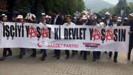 Saadet Partisi'nden anarşist pankart açıklaması